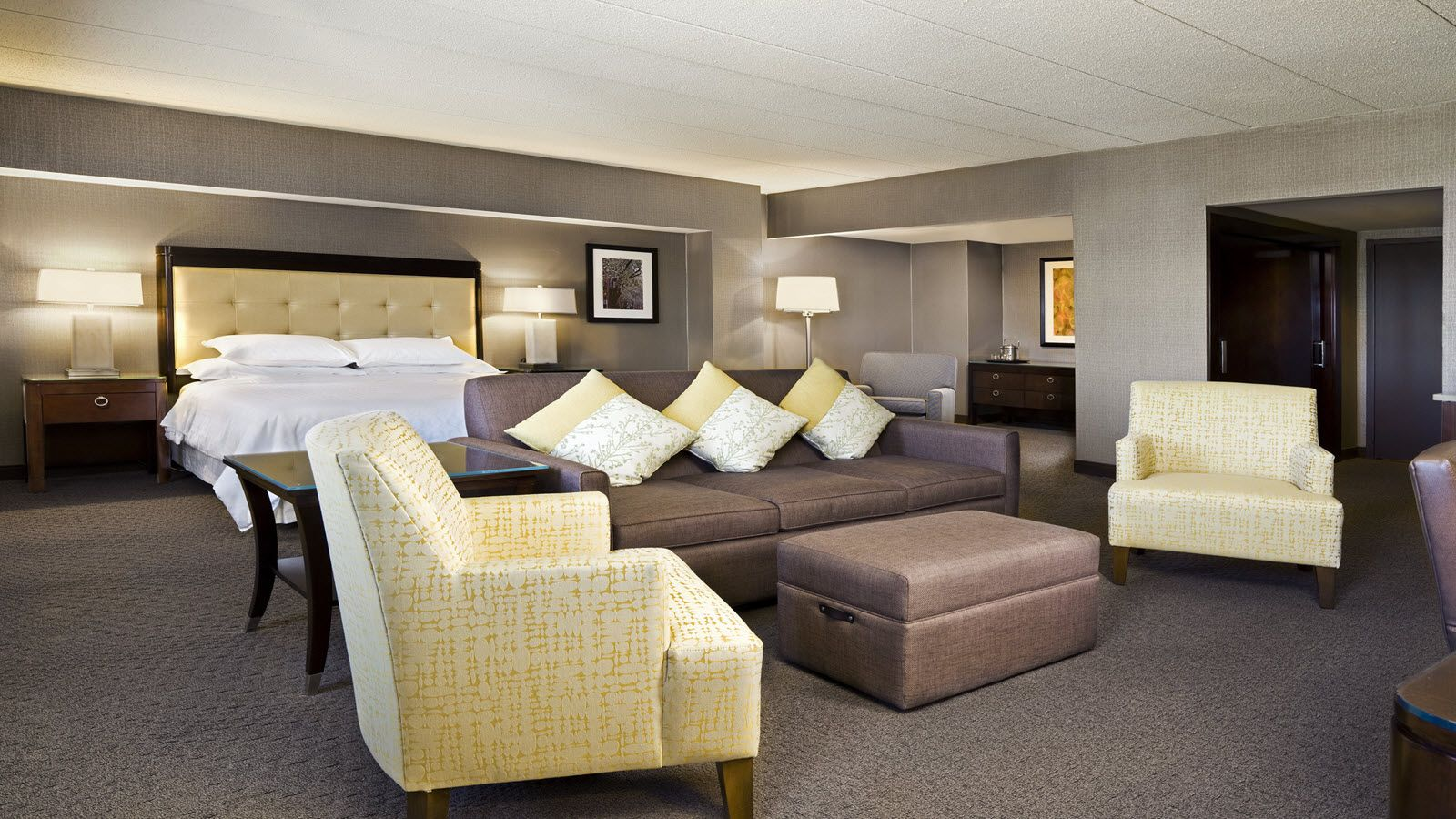 Sheraton Needham Hotel King Junior Suite